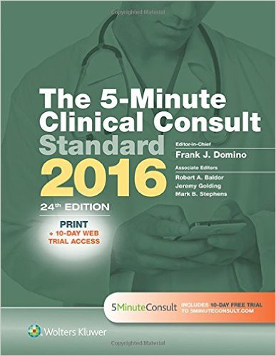 nurses 5 minute clinical consult treatments